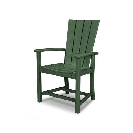 Quattro Adirondack Dining Chair in Green