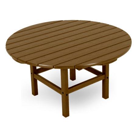 """Round 38"""" Conversation Table in Teak"""