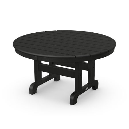 "Round 36"" Conversation Table in Black"