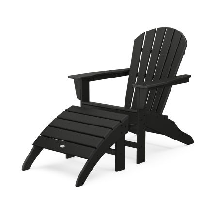 South Beach Adirondack 2-Piece Set in Black
