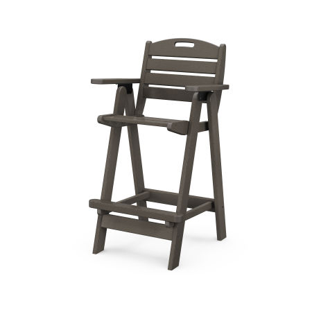Nautical Bar Chair in Vintage Finish