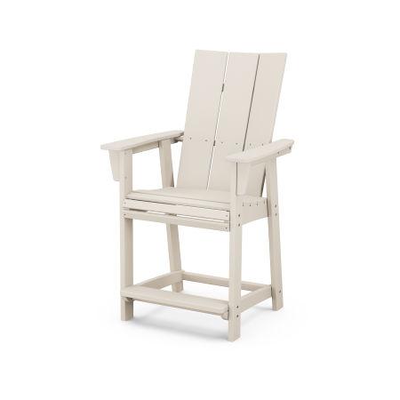 Modern Adirondack Counter Chair in Sand