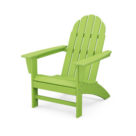 Vineyard Adirondack Chair in Lime