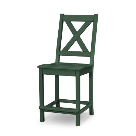 Braxton Counter Side Chair in Green