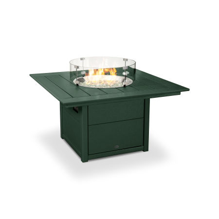 "Square 42"" Fire Pit Table in Green"