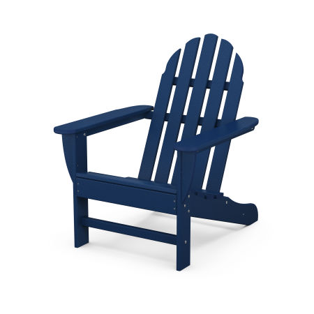 Classic Adirondack Chair in Navy