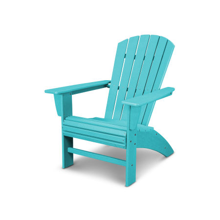 Nautical Curveback Adirondack Chair in Vintage Aruba