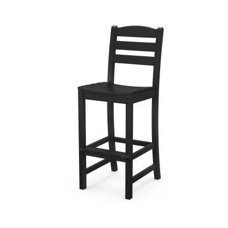 La Casa Café Bar Side Chair in Black
