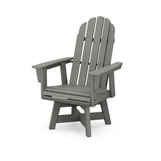 Vineyard Curveback Adirondack Swivel Dining Chair