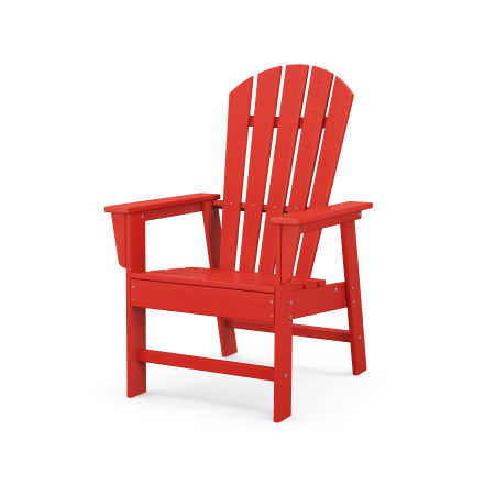 South Beach Casual Chair in Sunset Red