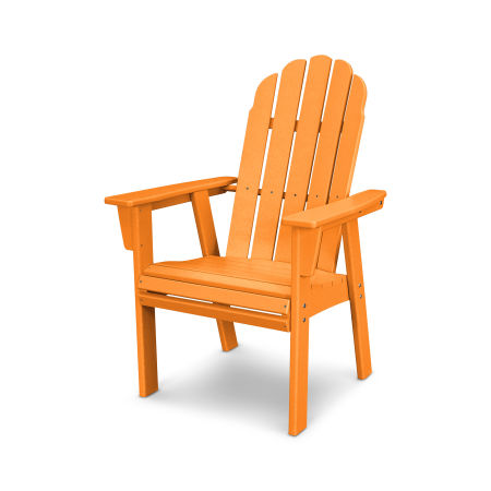Vineyard Adirondack Dining Chair in Tangerine