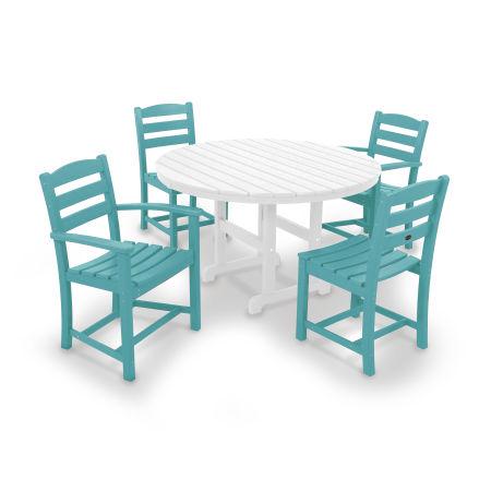 La Casa Café 5-Piece Dining Set in Aruba