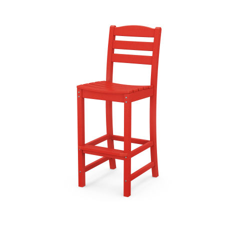 La Casa Café Bar Side Chair in Sunset Red