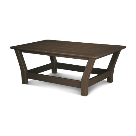 Harbour Slat Coffee Table in Mahogany