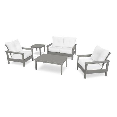 Prescott 5-Piece Deep Seating Set