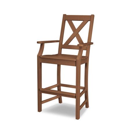 Braxton Bar Arm Chair in Teak