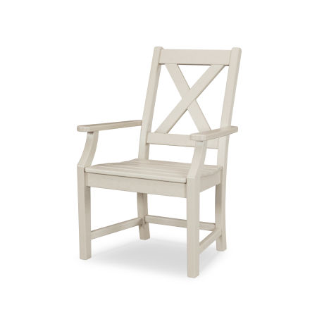 Braxton Dining Arm Chair in Sand