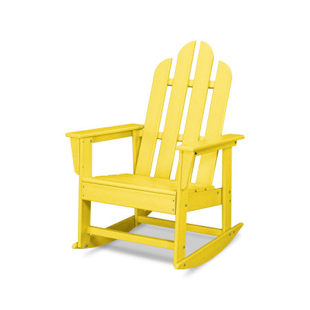 Long Island Rocking Chair in Lemon