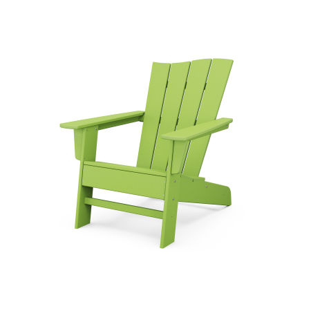 The Wave Chair Right in Lime