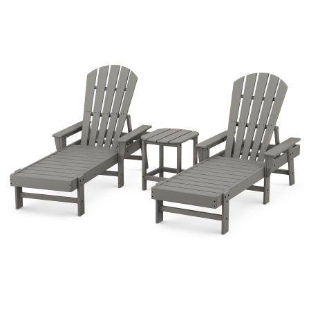 South Beach Chaise 3-Piece Set