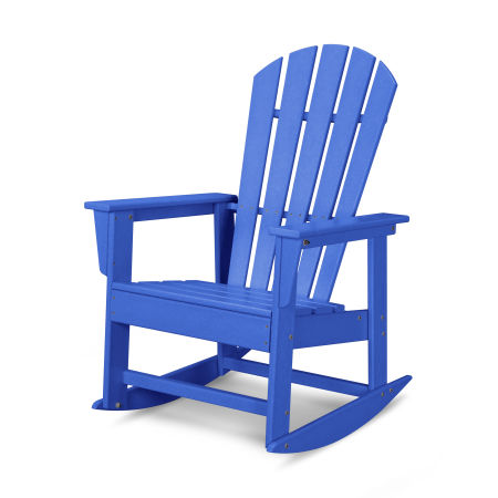South Beach Rocking Chair in Pacific Blue