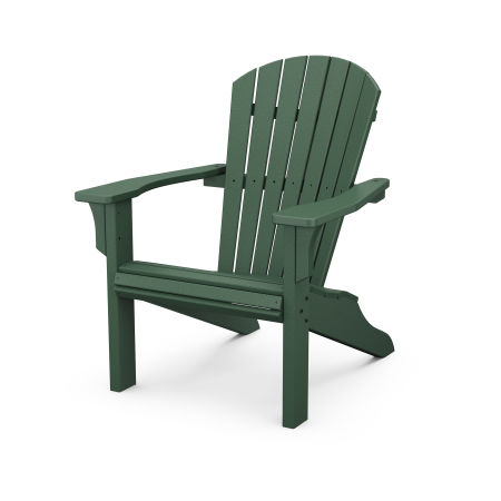 Seashell Adirondack in Green