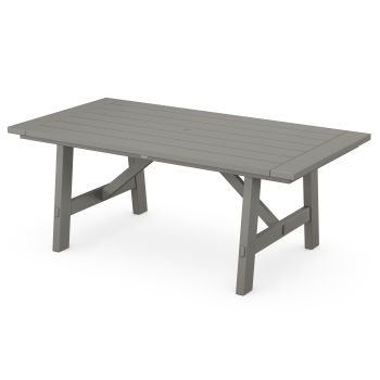 "Rustic Farmhouse 39"" x 75"" Dining Table"