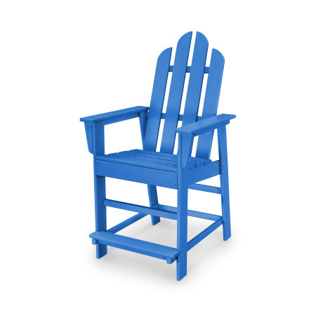 Long Island Counter Chair in Pacific Blue