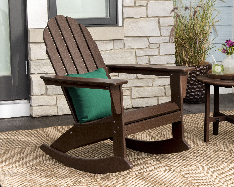 Polywood Vineyard Adirondack Rocking Chair Adr400 Polywood Official Store