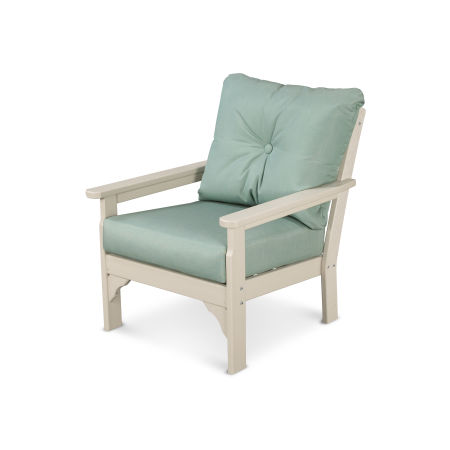 Vineyard Deep Seating Chair in Sand / Spa
