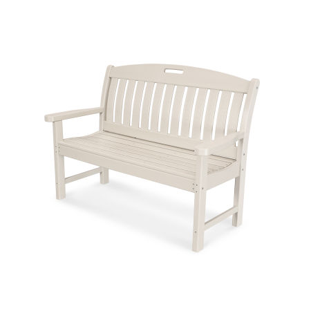"Nautical 48"" Bench in Sand"