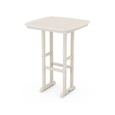 "Nautical 31"" Bar Table in Sand"