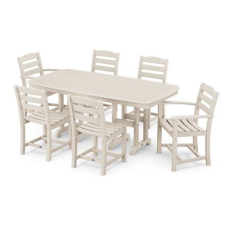 La Casa Café 7-Piece Dining Set in Sand