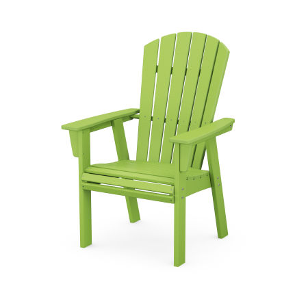 Nautical Adirondack Dining Chair in Lime