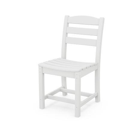La Casa Café Dining Side Chair in White