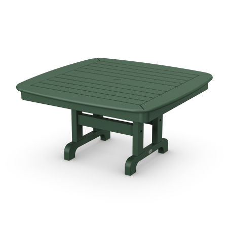 """Nautical 37"""" Conversation Table in Green"""