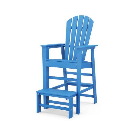 South Beach Lifeguard Chair in Pacific Blue