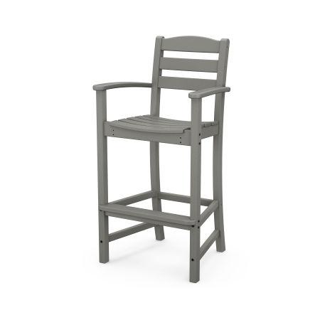 La Casa Café Bar Arm Chair in Slate Grey