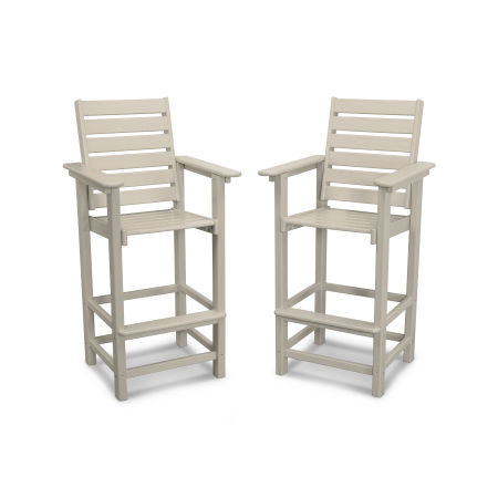 Captain Bar Chair Duo in Sand