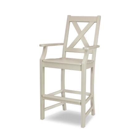 Braxton Bar Arm Chair in Sand