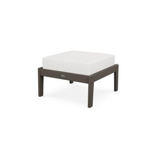 Lakeside Deep Seating Ottoman in Vintage Finish