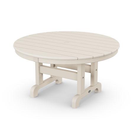 "Round 36"" Conversation Table in Sand"