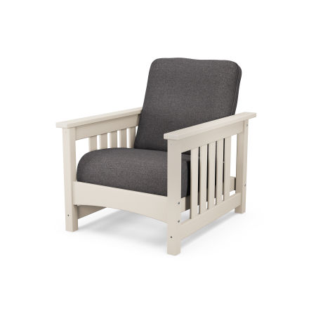 Mission Chair in Sand / Ash Charcoal