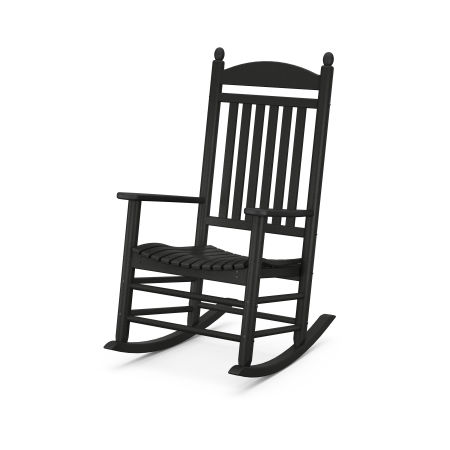 Jefferson Rocking Chair in Black