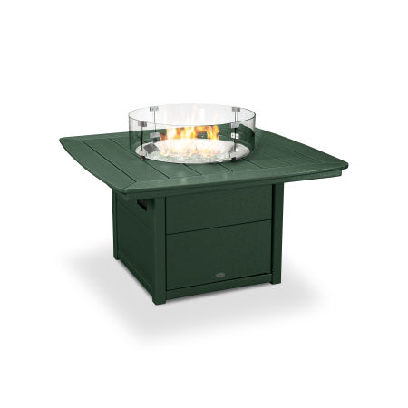 "Nautical 42"" Fire Pit Table in Green"