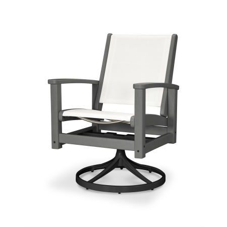 Coastal Swivel Rocker