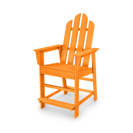 Long Island Counter Chair in Tangerine