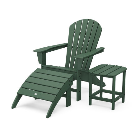 South Beach Adirondack 3-Piece Set in Green