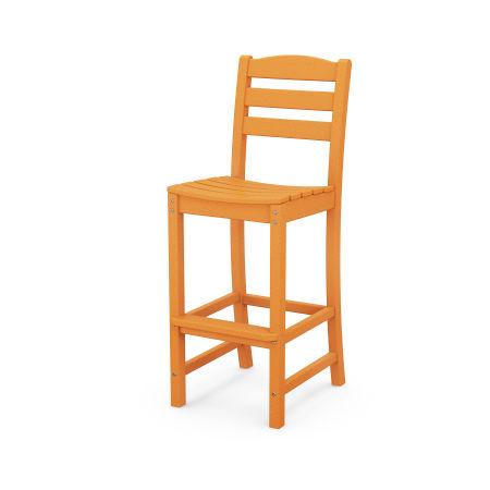 La Casa Café Bar Side Chair in Tangerine