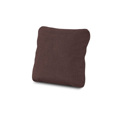 "18"" Outdoor Throw Pillow in Cast Currant"
